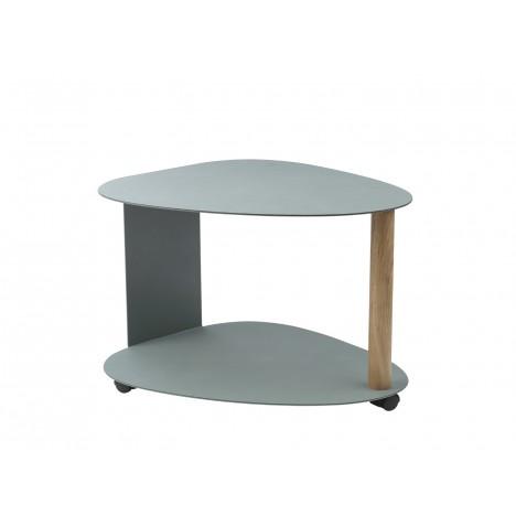 Ausstellungsstück - Curve Table Nupo pastel green/Alu pastel green XL