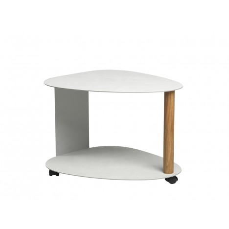 Sonderpreis - Curve Table Nupo metallic/Alu metallic XL