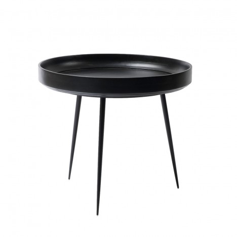 Bowl Table - Black Groß